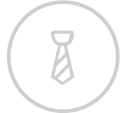 Business tie icon